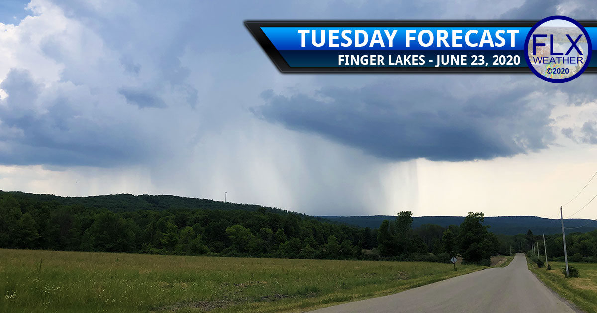 finger lakes weather forecast tuesday june 23 2020 hot muggy late thunderstorms