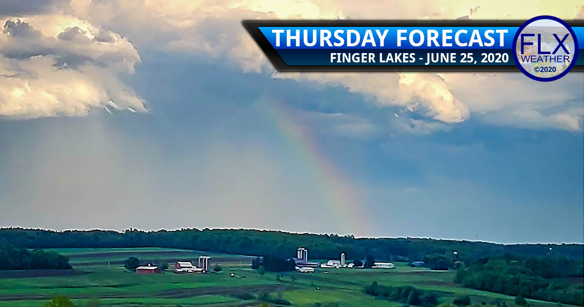 finger lakes weather forecast thursday june 25 2020 thunderstorms