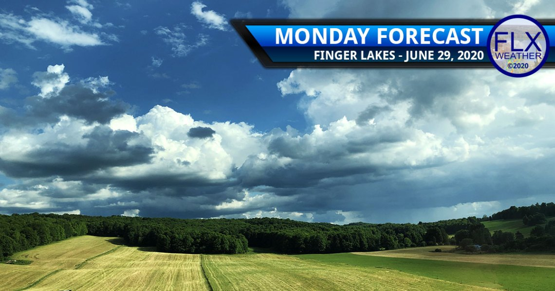 finger lakes weather forecast monday june 29 2020 sun clouds showers