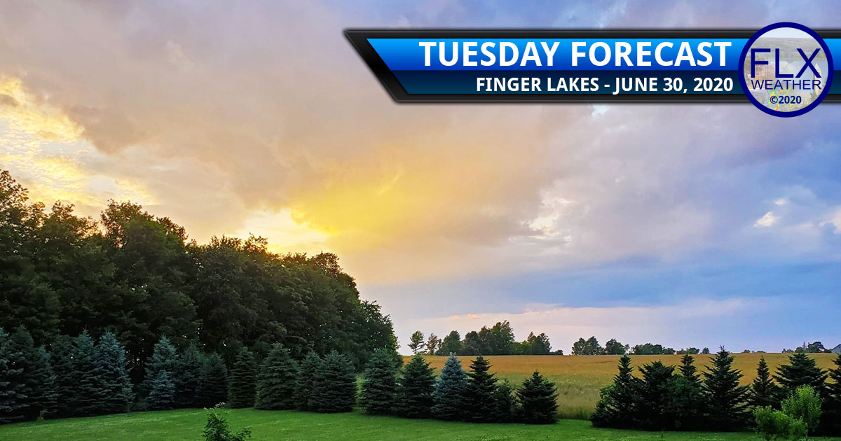 finger lakes weather forecast tuesday june 30 2020 mild sun clouds showers