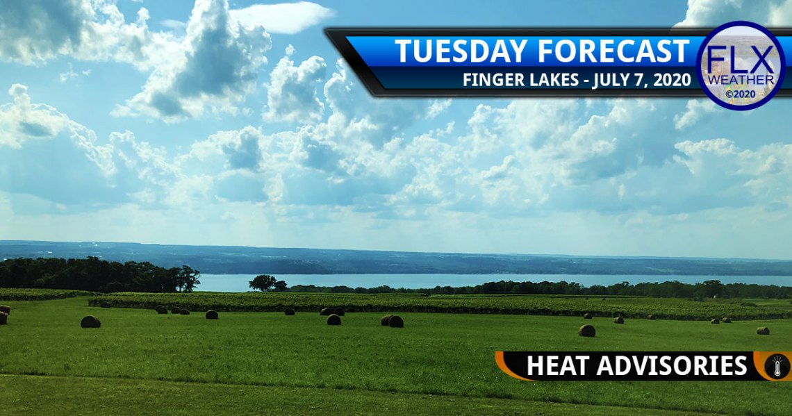 finger lakes weather forecast tuesday july 7 2020 heat advisories thunderstorms