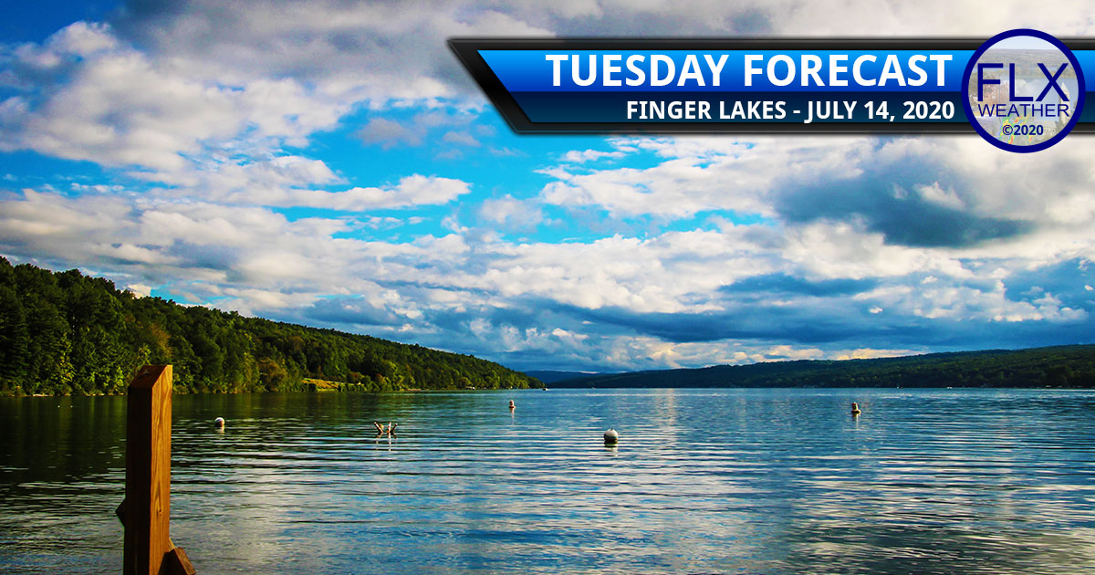 finger lakes weather forecast tuesday july 14 2020 comfortable temperatures turning hot