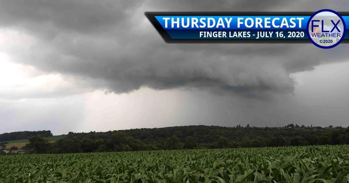 finger lakes weather forecast thursday july 16 2020