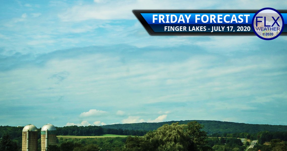 finger lakes weather forecast friday july 17 2020 hot weekend