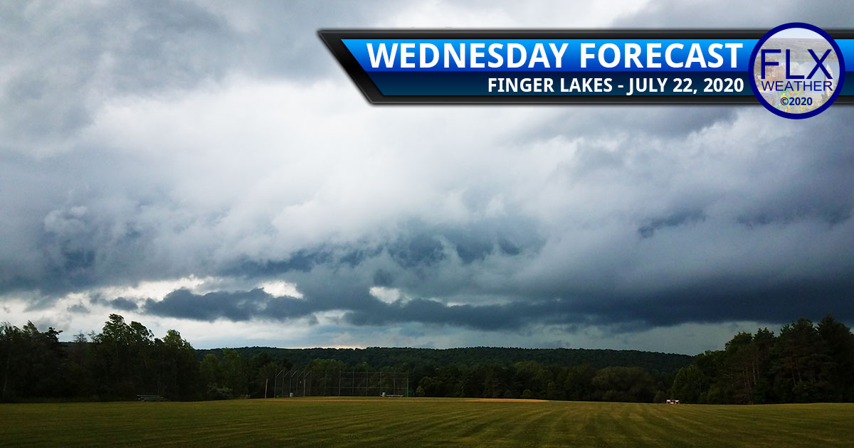 finger lakes weather forecast wednesday july 22 2020 rain thunderstorms