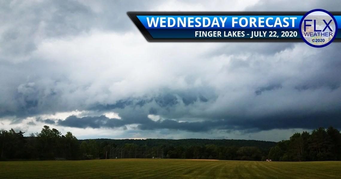 finger lakes weather forecast wednesday july 22 2020 rain thunderstorms