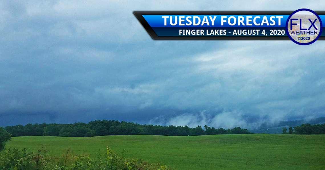 finger lakes weather forecast tuesday august 4 2020 tropical storm isaias rain amounts