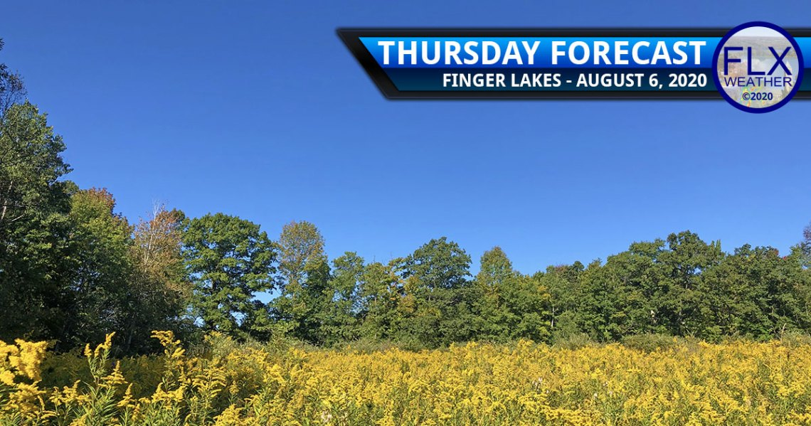 finger lakes weather forecast thursday august 6 2020 sun showers friday saturday warmer weather