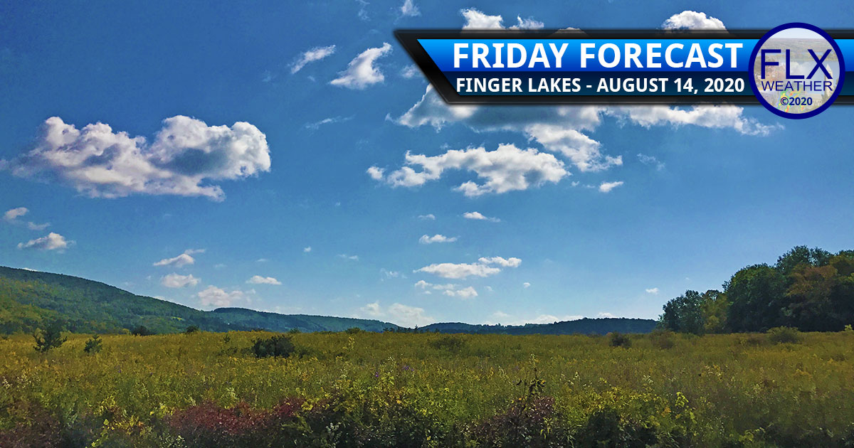 finger lakes weather forecast friday august 14 2020 sun warm weekend storms sunday