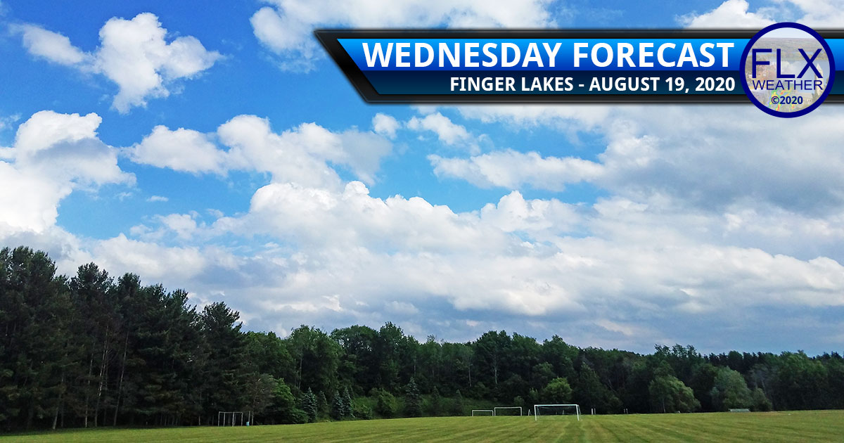 finger lakes weather forecast wednesday august 19 2020 cool sun clouds high pressure