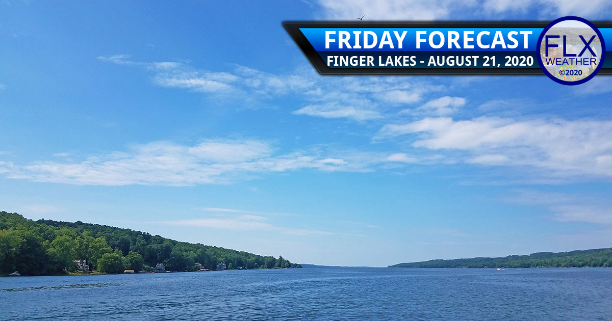finger lakes weather forecast friday august 21 2020 warm weekend