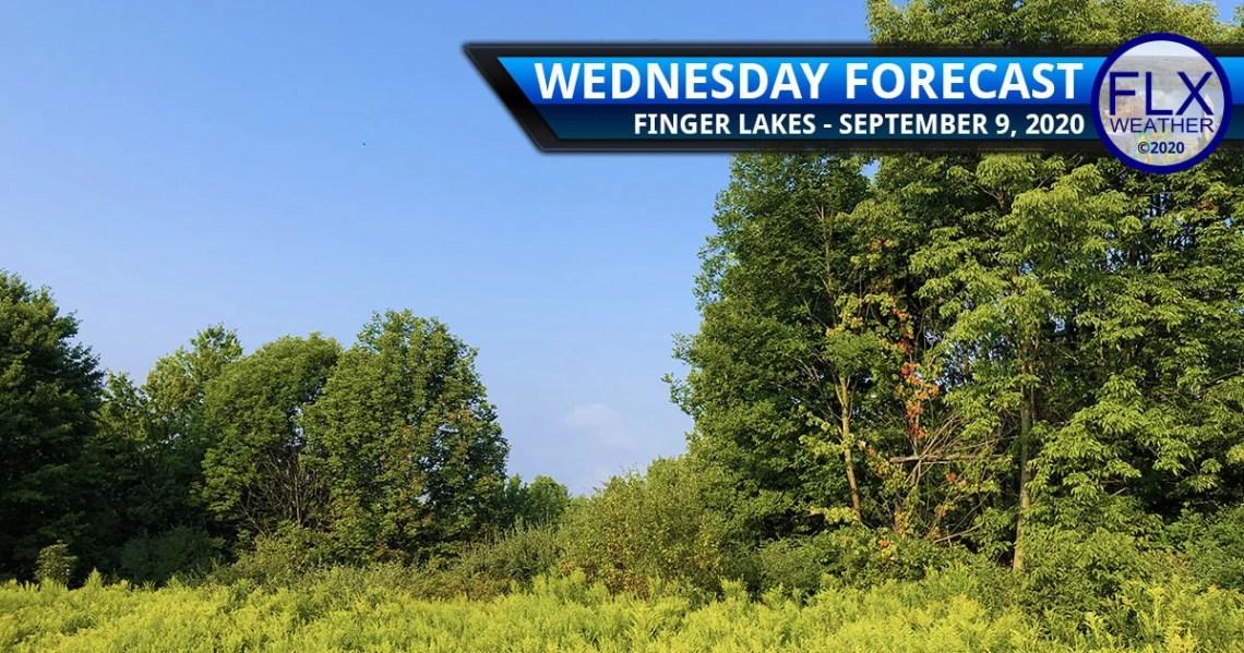 finger lakes weather forecast wednesday september 9 2020 sunny warm muggy
