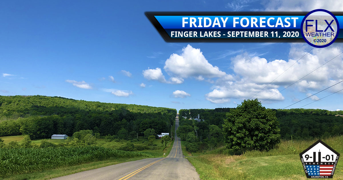 finger lakes weather forecast friday september 11 2020 high pressure cool air weekend