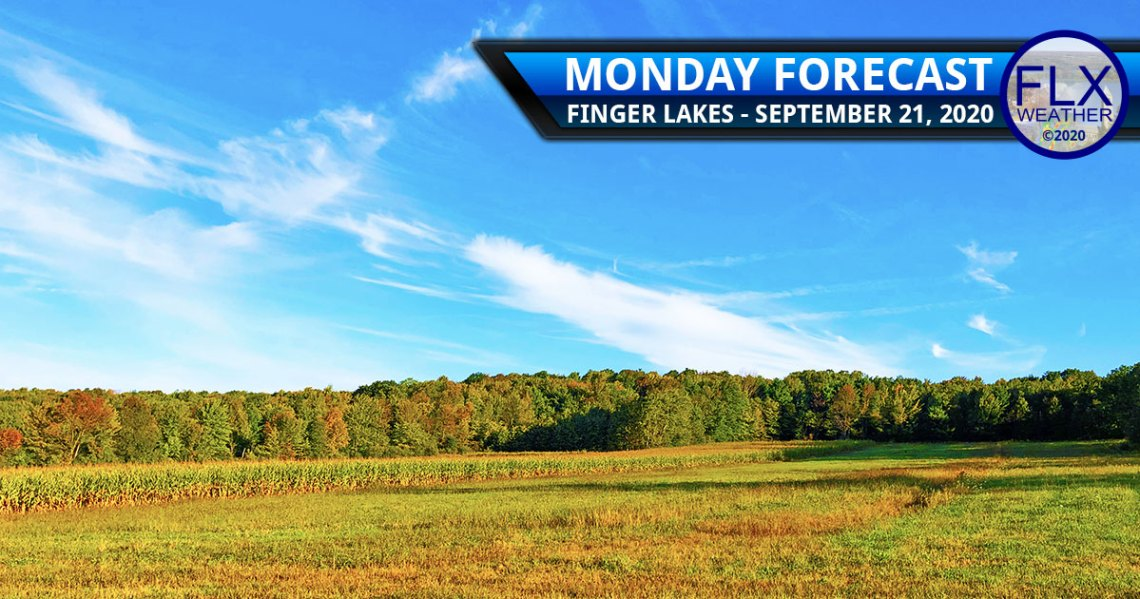 finger lakes weather forecast monday september 21 2020 cold warming trend sunny dry