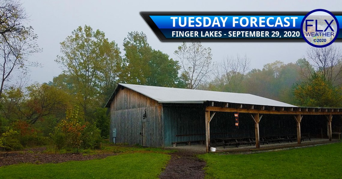 finger lakes weather forecast tuesday september 29 2020 soaking rain