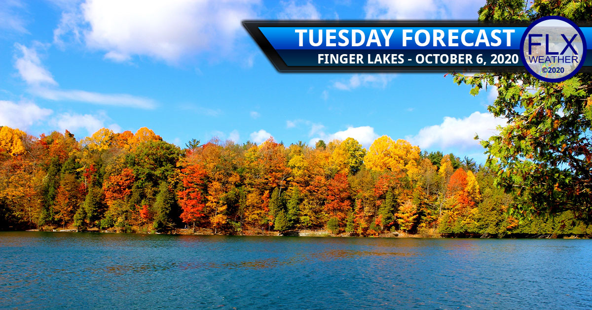 finger lakes weather forecast tuesday october 6 2020 sunny mild cold front