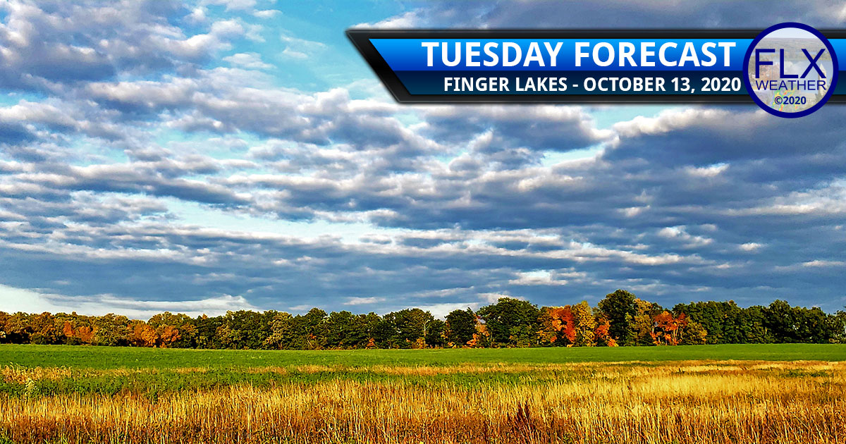 finger lakes weather forecast tuesday october 13 2020 morning rain afternoon sun