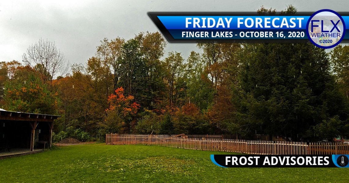 finger lakes weather forecast friday october 16 2020 rain cold frost advisories