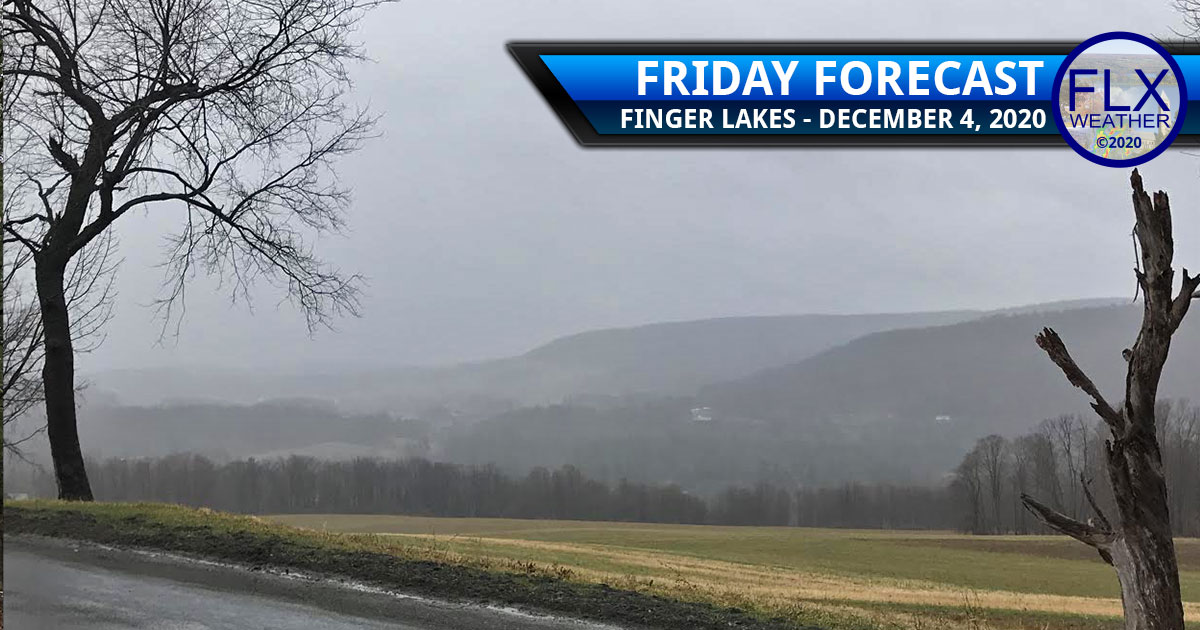 finger lakes weather forecast friday december 4 2020 cloudy cool rain showers snow flurries lake effect weekend