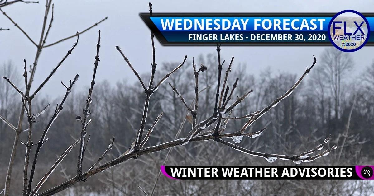 finger lakes weather forecast wednesday december 30 2020 icy mix rain freezing rain snow