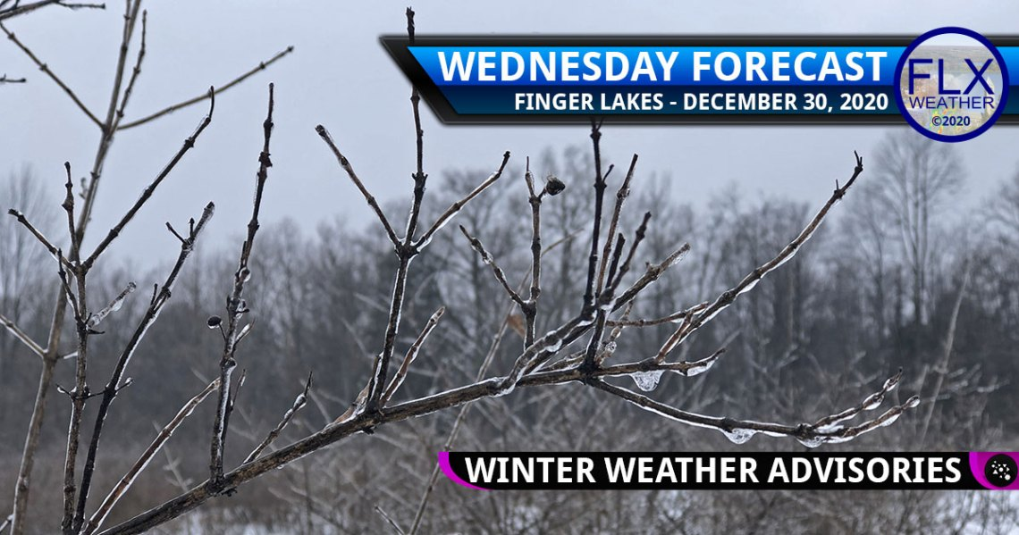 finger lakes weather forecast wednesday december 30 2020 icy mix rain freezing rain snow