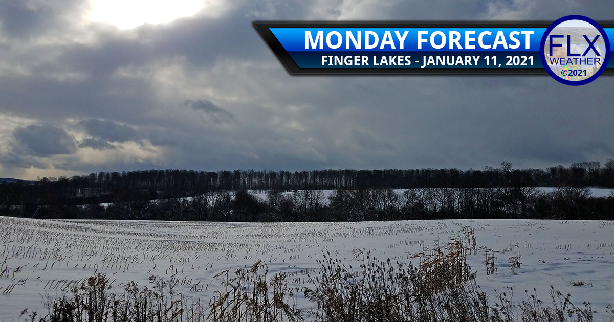 finger lakes weather forecast monday janaury 11 2021 snow showers mild warming trend