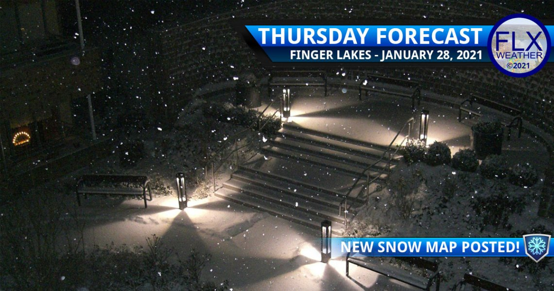finger lakes weather forecast thursday january 28 2021 lake effect snow squalls thursday evening
