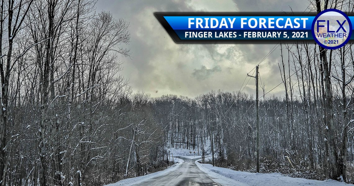 finger lakes weather forecast friday february 5 2021 sun clouds snow cold front lake effect weekend weather