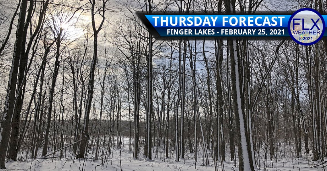 finger lakes weather forecast thursday february 25 2021 sun clouds snow cooler active weekend weather