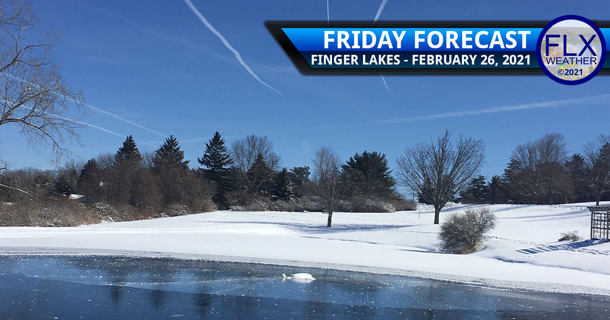 finger lakes weather forecast friday february 26 2021 sunny weekend unsettled rain snow ice