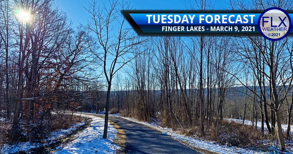 finger lakes weather forecast tuesday march 9 2021 sunny warming up
