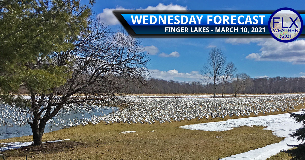 finger lakes weather forecast wednesday march 10 2021 sunny warm clouds showers