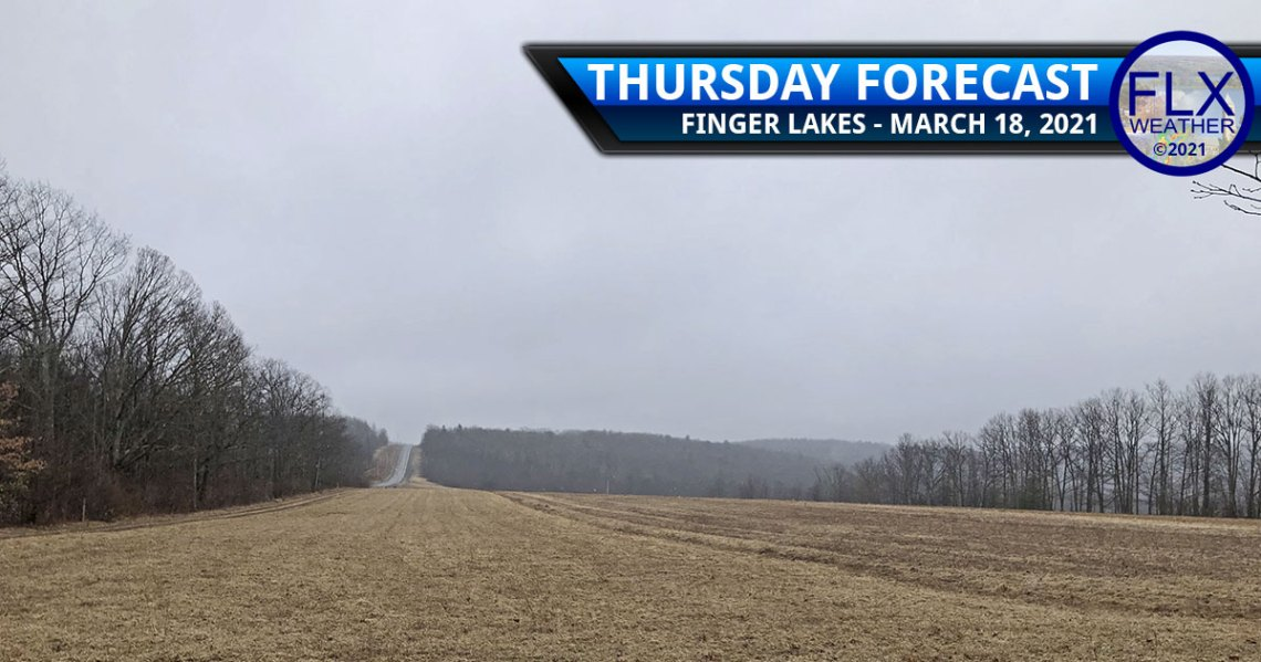 finger lakes weather forecast thursday march 18 2021 rain cool snow mix