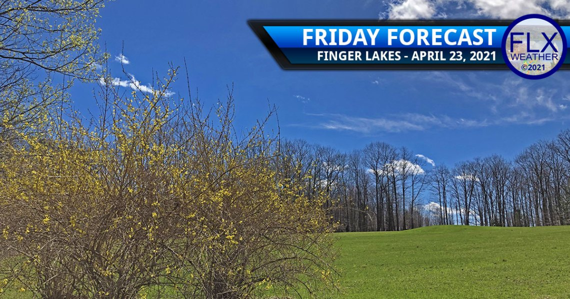 finger lakes weather forecast friday april 23 2021 weekend warm up sunny