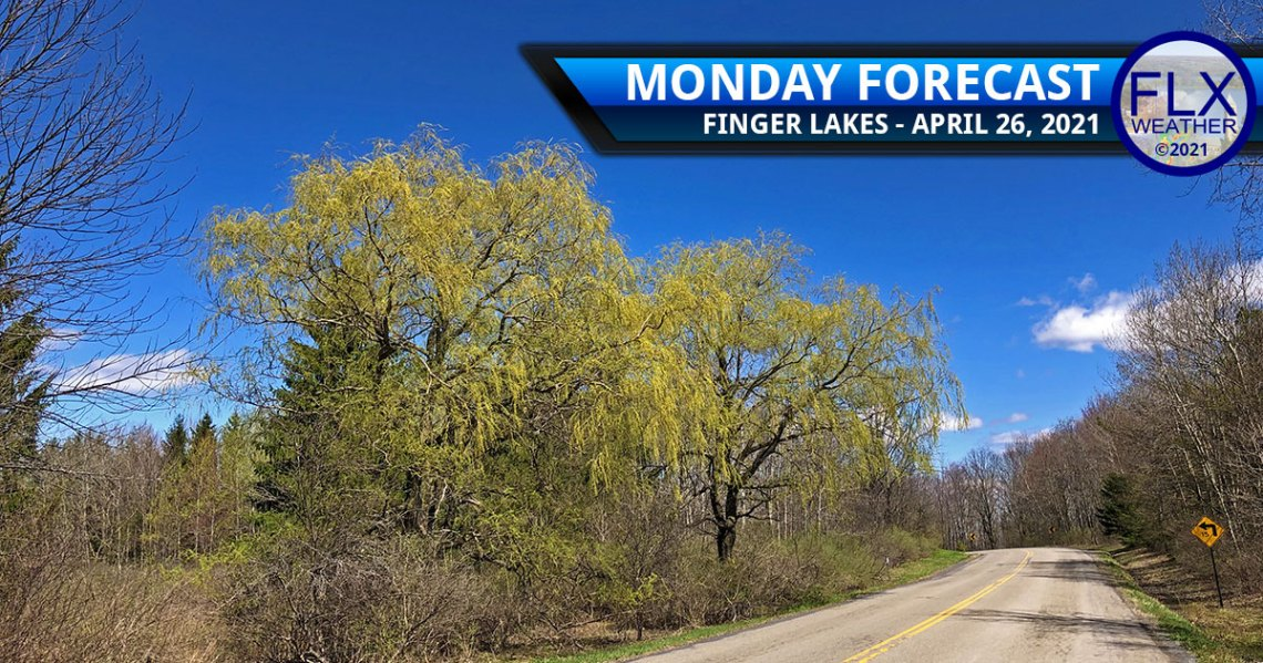 finger lakes weather forecast monday april 26 2021 sunny cool front rain