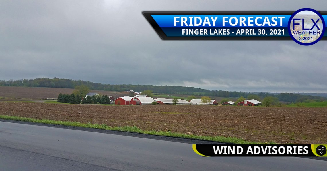 finger lakes weather forecast friday april 30 2021 wind advisory snow weekend
