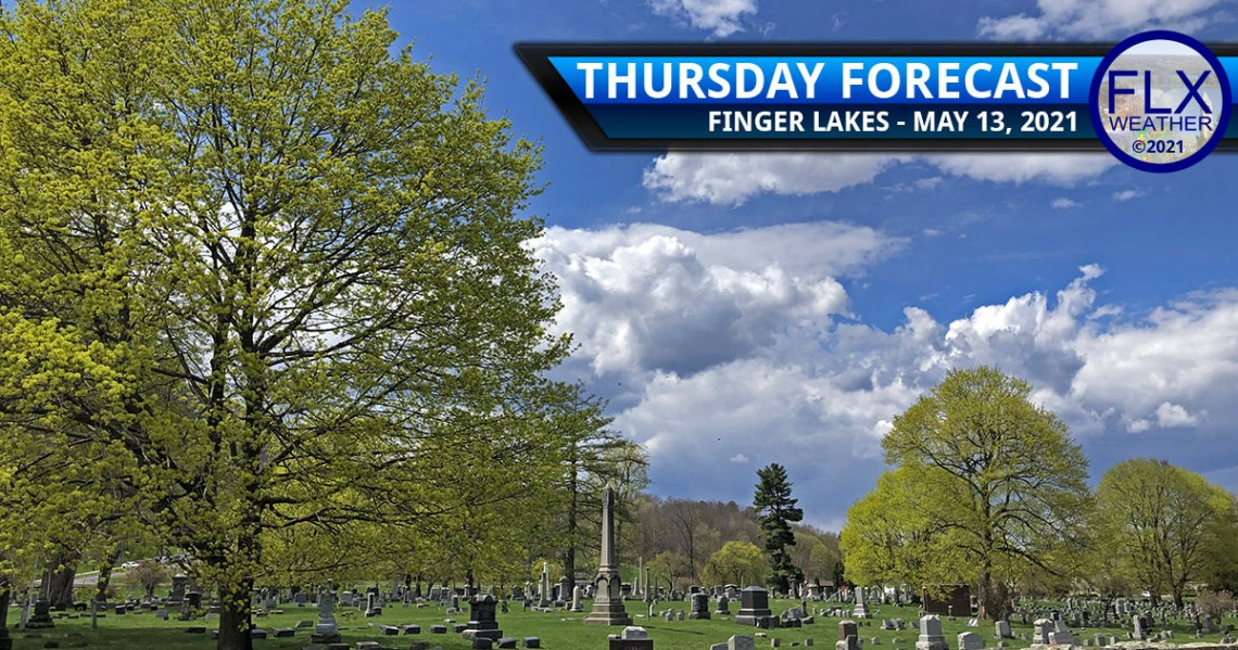 finger lakes weather forecast thursday may 13 2021 sun clouds warming trend