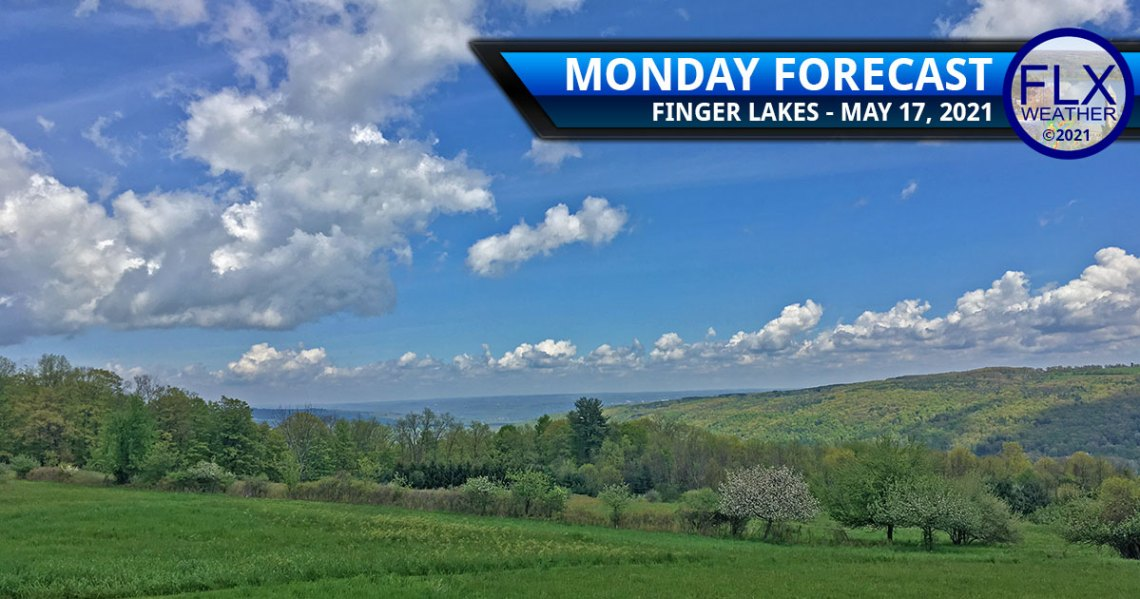 finger lakes weather forecast monday may 17 2021 sun clouds warm