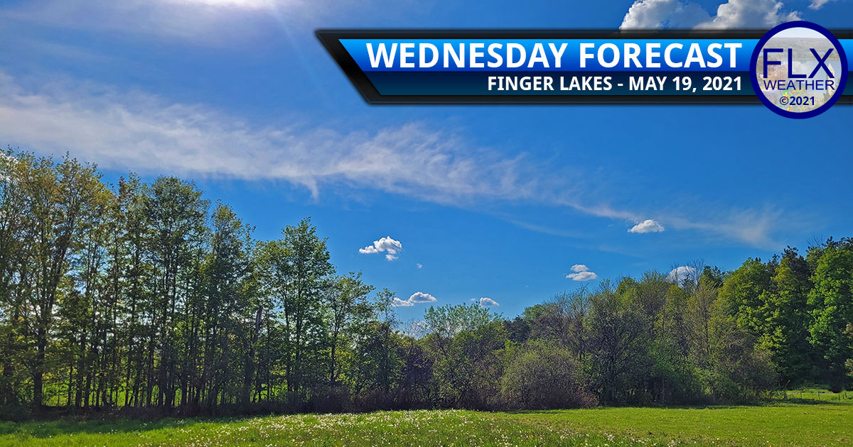 finger lakes weather forecast wednesday may 19 2021 sunny warm clouds weekend weather