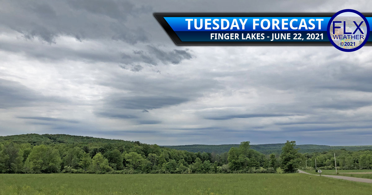 finger lakes weather forecast tuesday june 22 2021 cloudy cool cold front