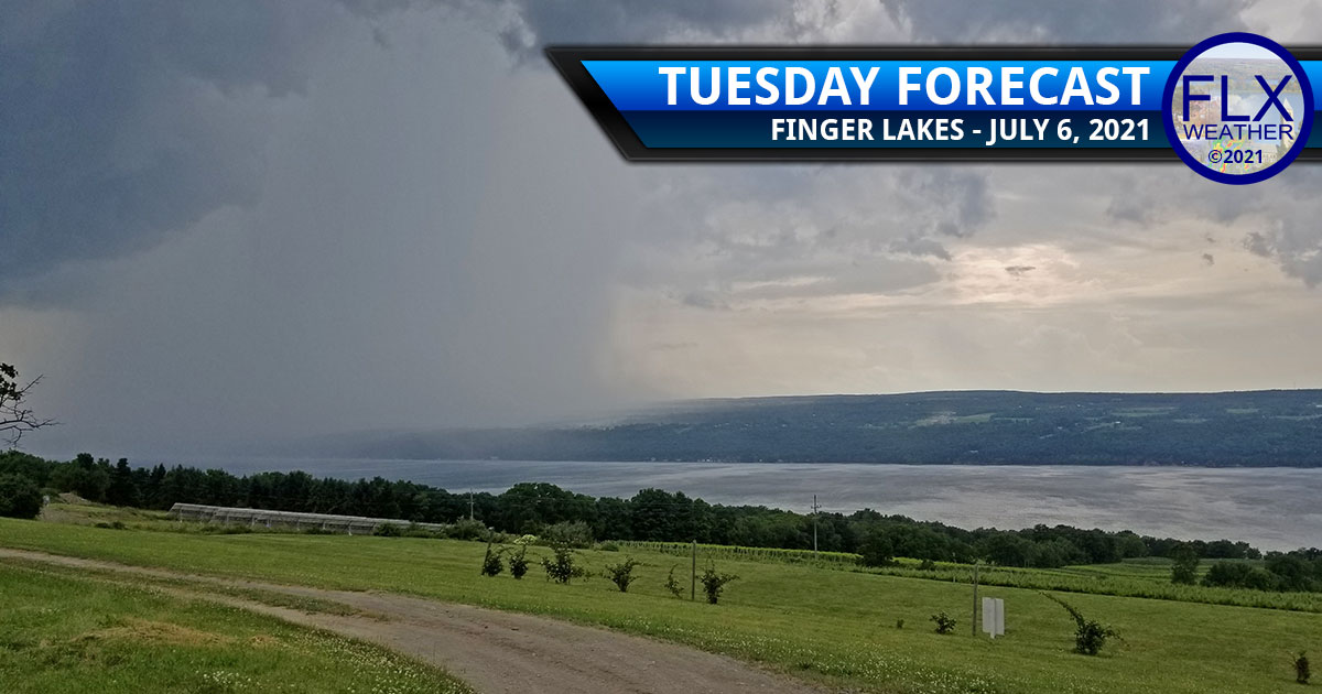 finger lakes weather forecast tuedsay july 7 2021 showers thunderstorms heavy rain humid