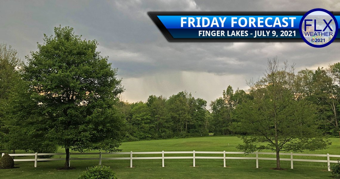finger lakes weather forecast friday july 9 2021 showers cold front dry saturday