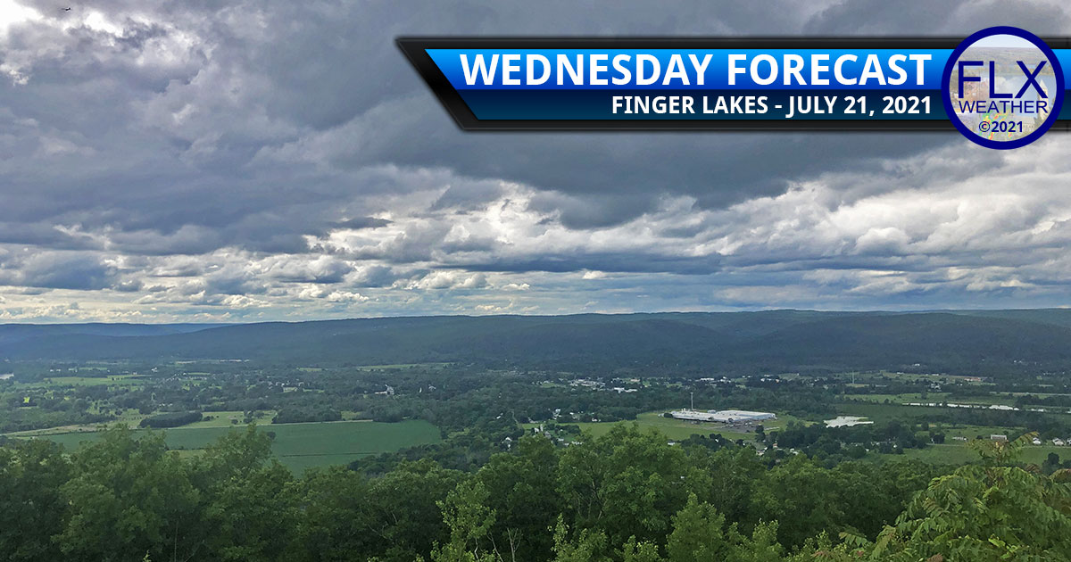 finger lakes weather forecast wednesday july 21 2021 clouds cold front sun wildfire smoke
