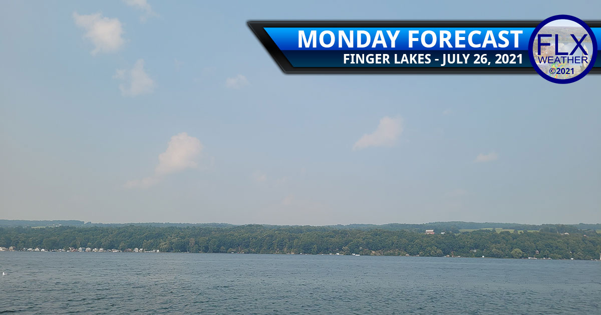 finger lakes weather forecast monday july 26 2021 sun clouds smoke air quality