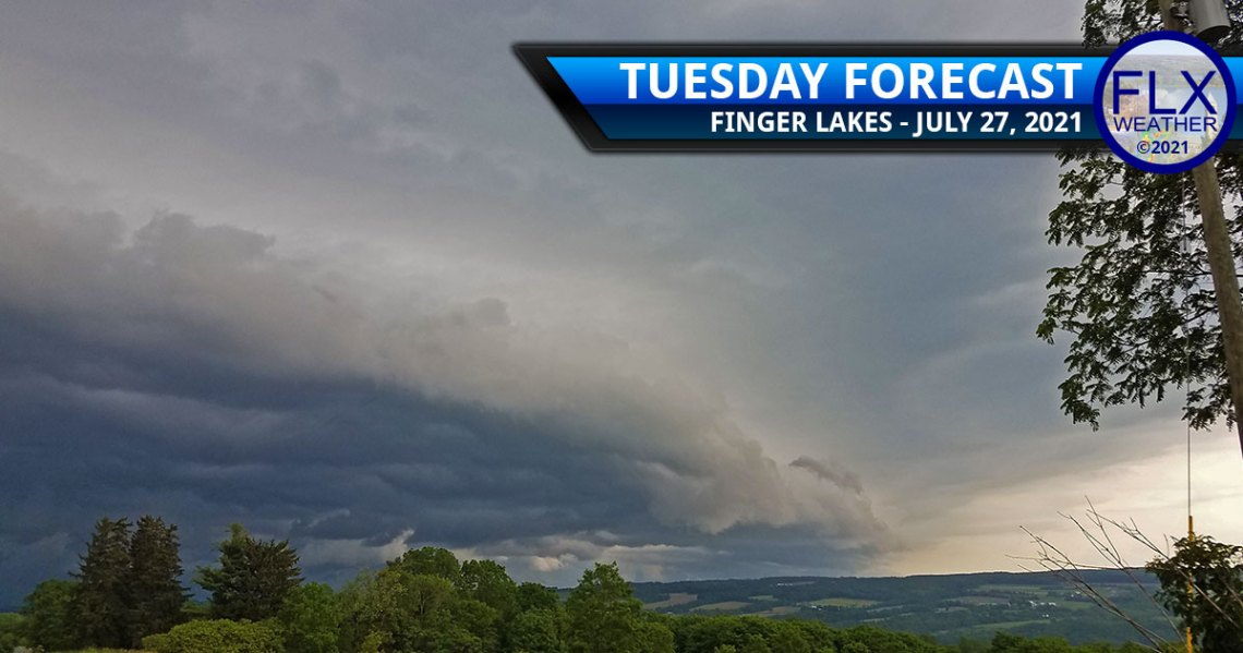 finger lakes weather forecast tuesday july 27 2021 severe thunderstorms