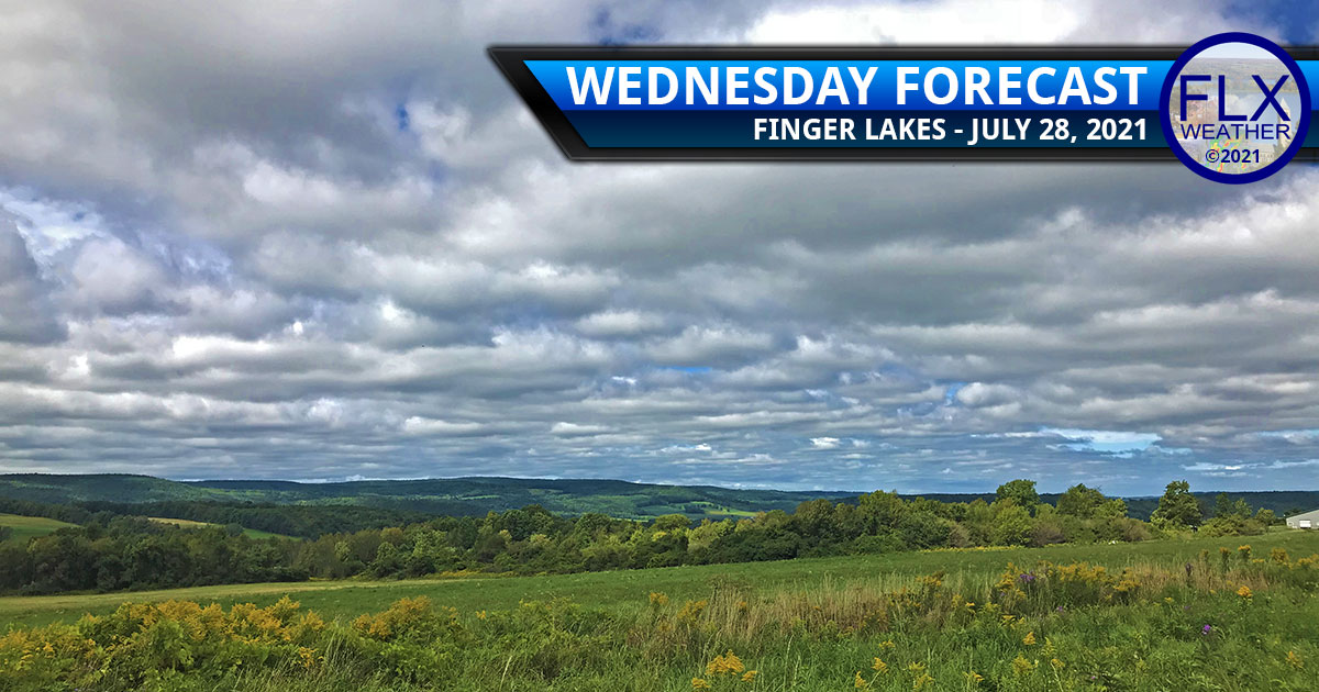 finger lakes weather forecast wednesday july 28 2021 sun clouds smoke thursday showers