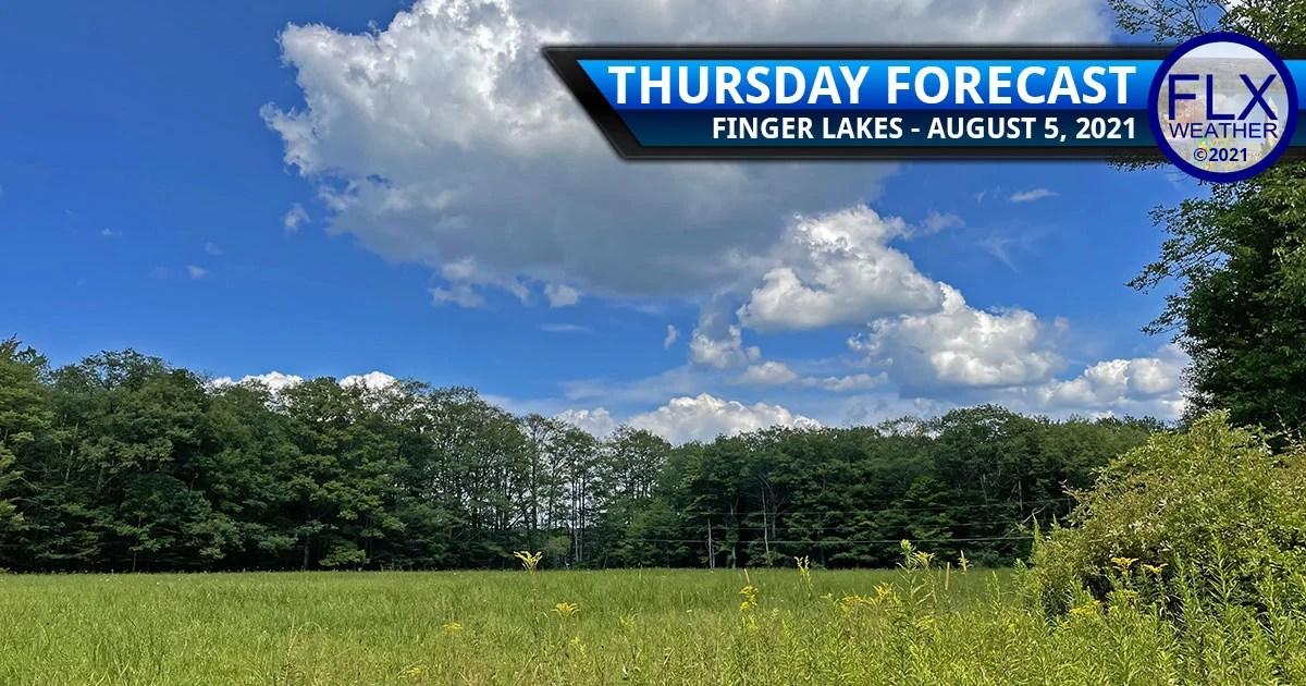 finger lakes weather forecast thursday august 5 20201 sunny warm weekend rain chances