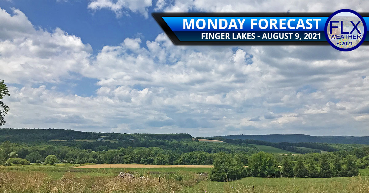 finger lakes weather forecast monday august 9 2021 hot humid showers storms