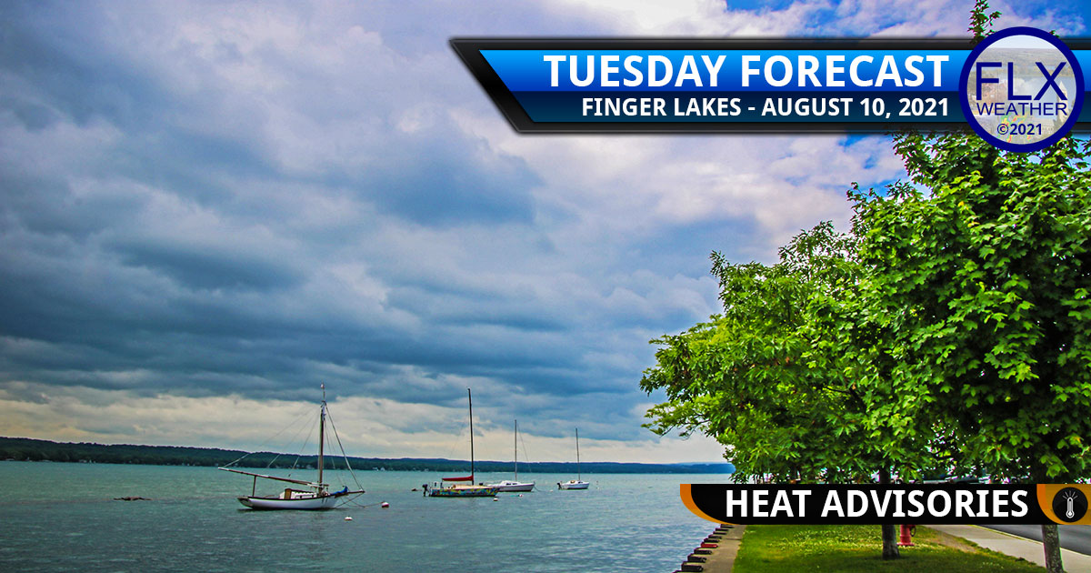 finger lakes weather forecast tuesday august 10 2021 hot humid thunderstorms