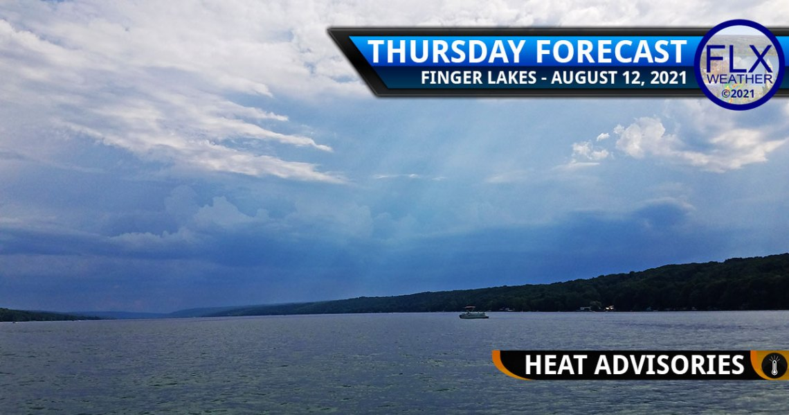 finger lakes weather forecast thursday august 12 2021 severe thunderstorms hot humid